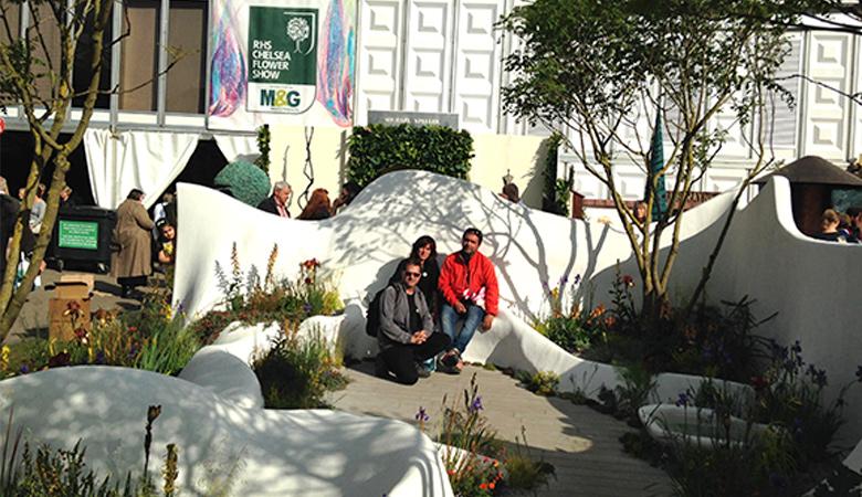 Disseny de jardins al Certamen del Chelsea Flower Show 2015